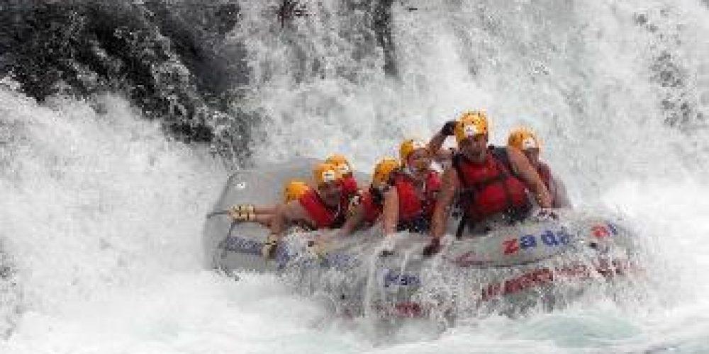 Rafting on the Zrmanja River