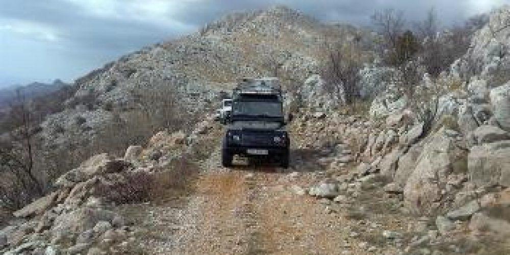Jeep safati to Velebit