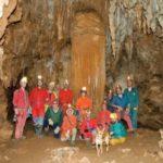 Group Picture inside Špilja Modrić (cave)